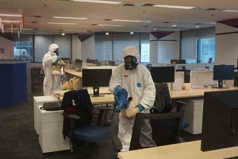Ofis Dezenfekte Hizmeti