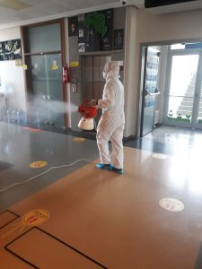 anaokulu ve kreş dezenfeksiyonu