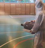 spor salonu dezenfeksiyonu