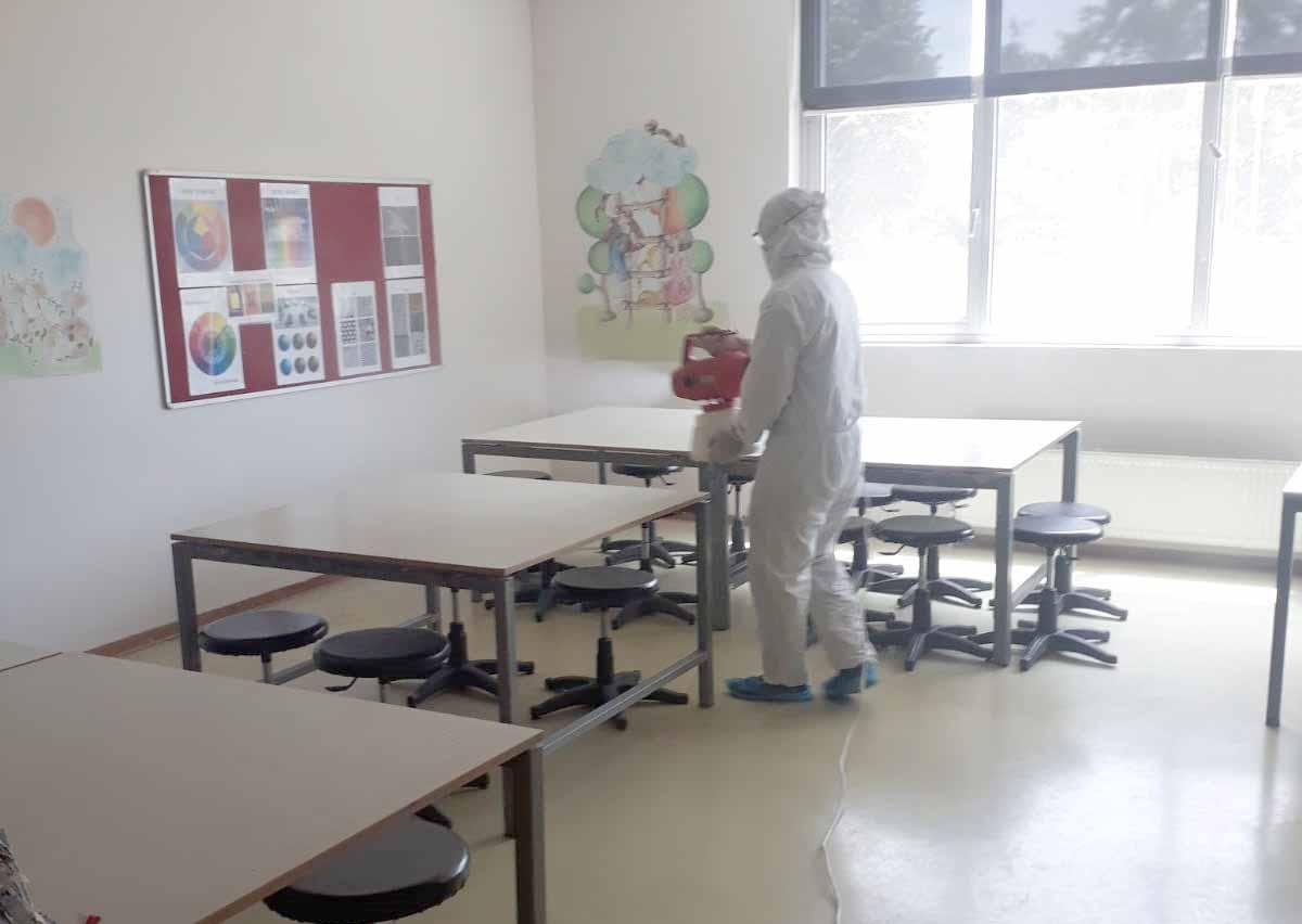 okul dezenfeksiyonu